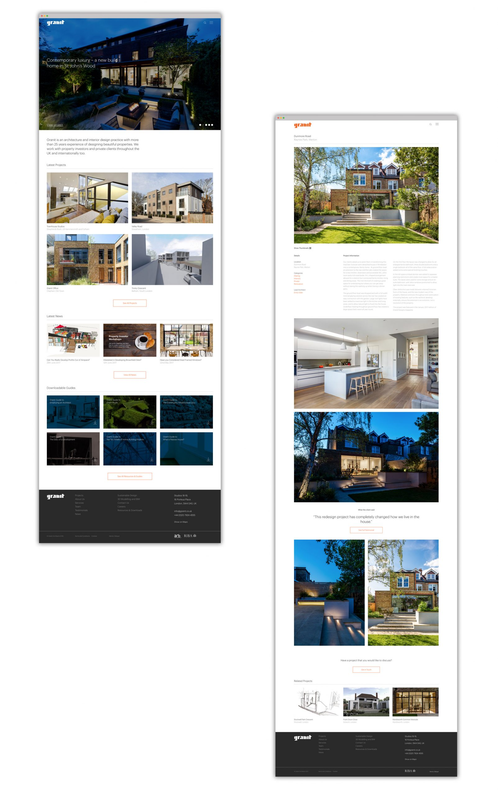 granit-project-pages