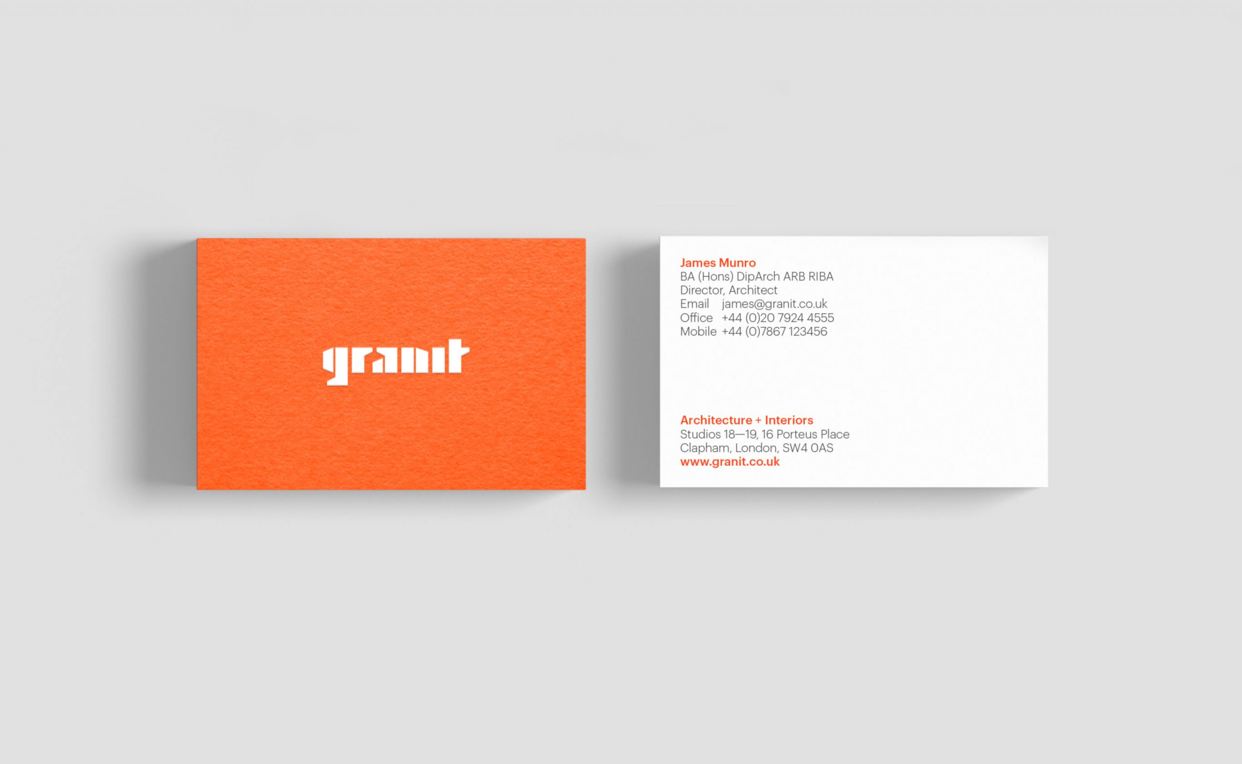 granit-business-cards