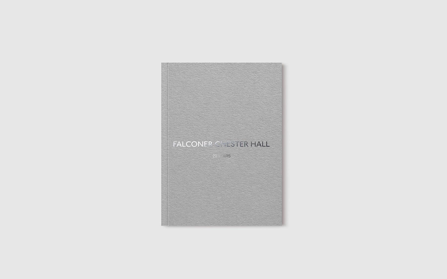 falconer chester hall brochure design by Leeds based Freelance Designer Neil Holroyd