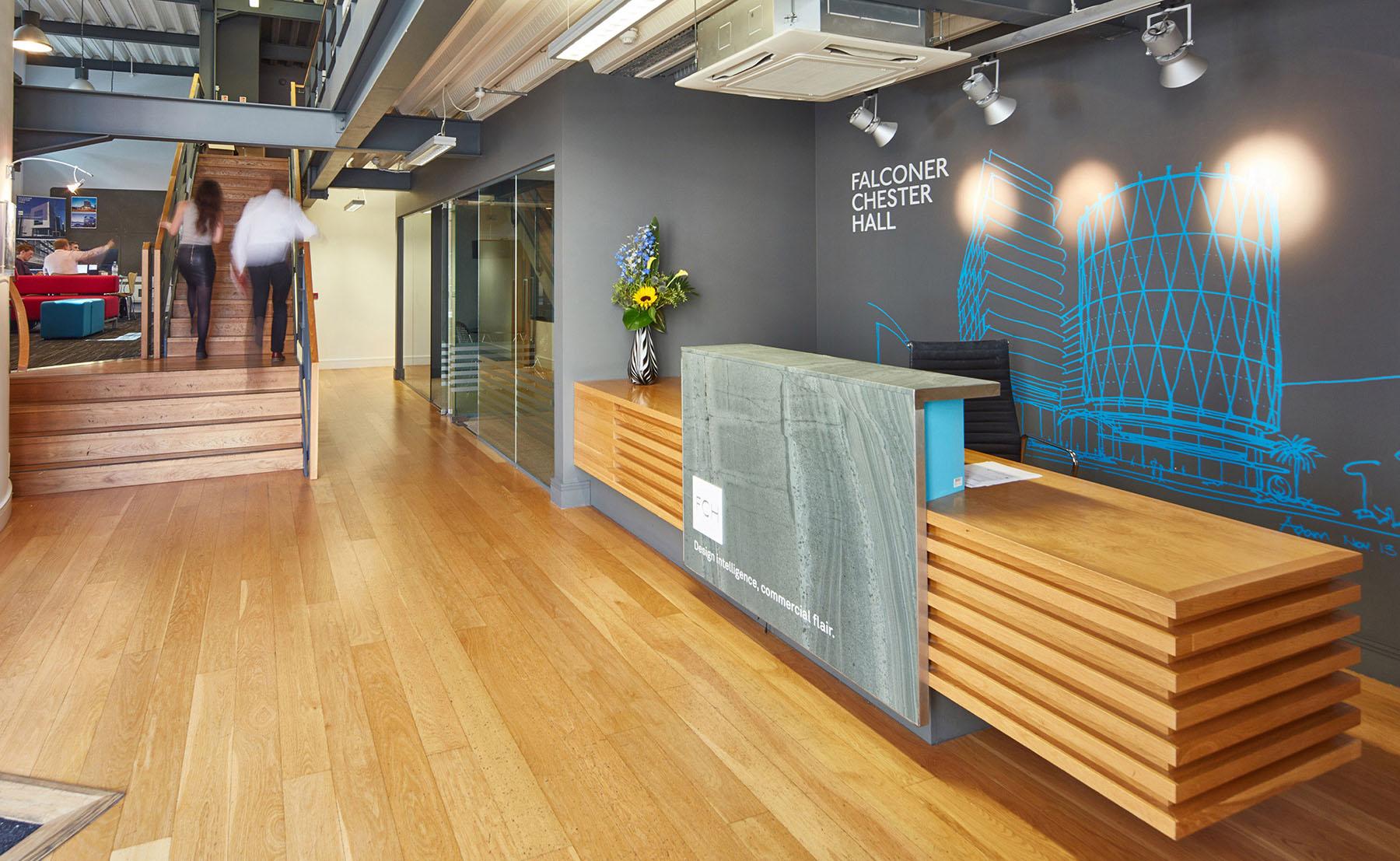 falconer chester hall reception design by Leeds based Freelance Designer Neil Holroyd