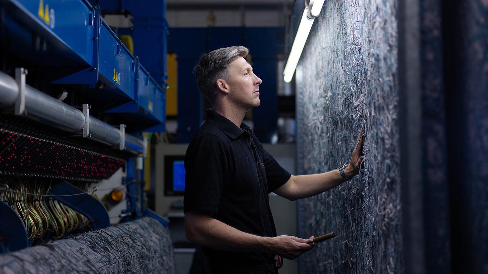 Newhey Carpets photography – Art Direction by Neil Holroyd Leeds based freelance designer